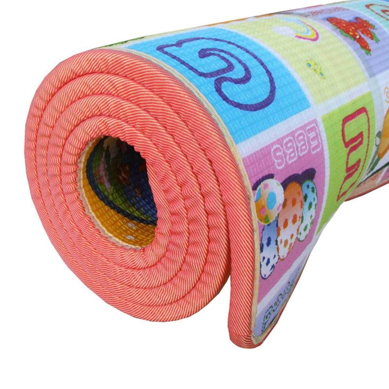Quality 1CM Thickness Baby Crawling Mat Children Play Mat Waterproof Kids Beach Picnic Mat Soft Eva Foam Carpet Rug Baby Gift