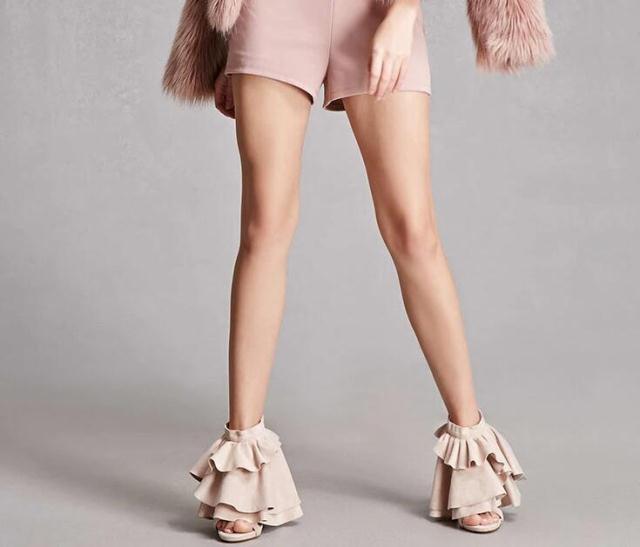 Partie Pic Retour Zipper Mariage Ruches Mince Chaussures Talons Embelli De Femme Haute As Nude Robe D'été Peep Toe Gladiateur 6wXqtPUxO