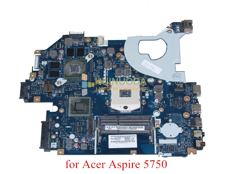 Laptop Motherboard MBRG502001 P5WE0 LA 6901P for acer aspire 5750 5750G 5755G HM65 2xSO DIMM DDR3 GT540M GeForce