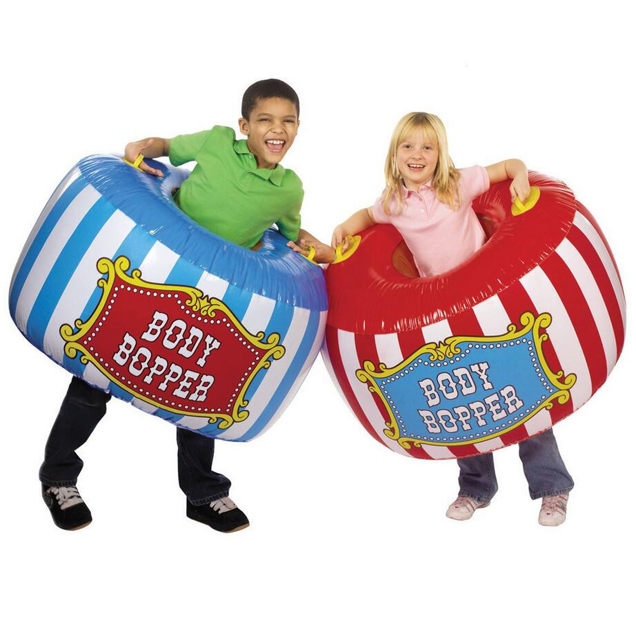 2pcs/Lot Children Bumper Ball High Quality PVC Safe Outdoor Sport Toy For School Funny Football Games Sensory Integration Tools plastic bad dog bones tricky toy games creative funny high quality parent children family party games unisex children game gifts