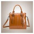 summer new female bag bag lady handbags locomotive oil wax bag handbag a undertakes