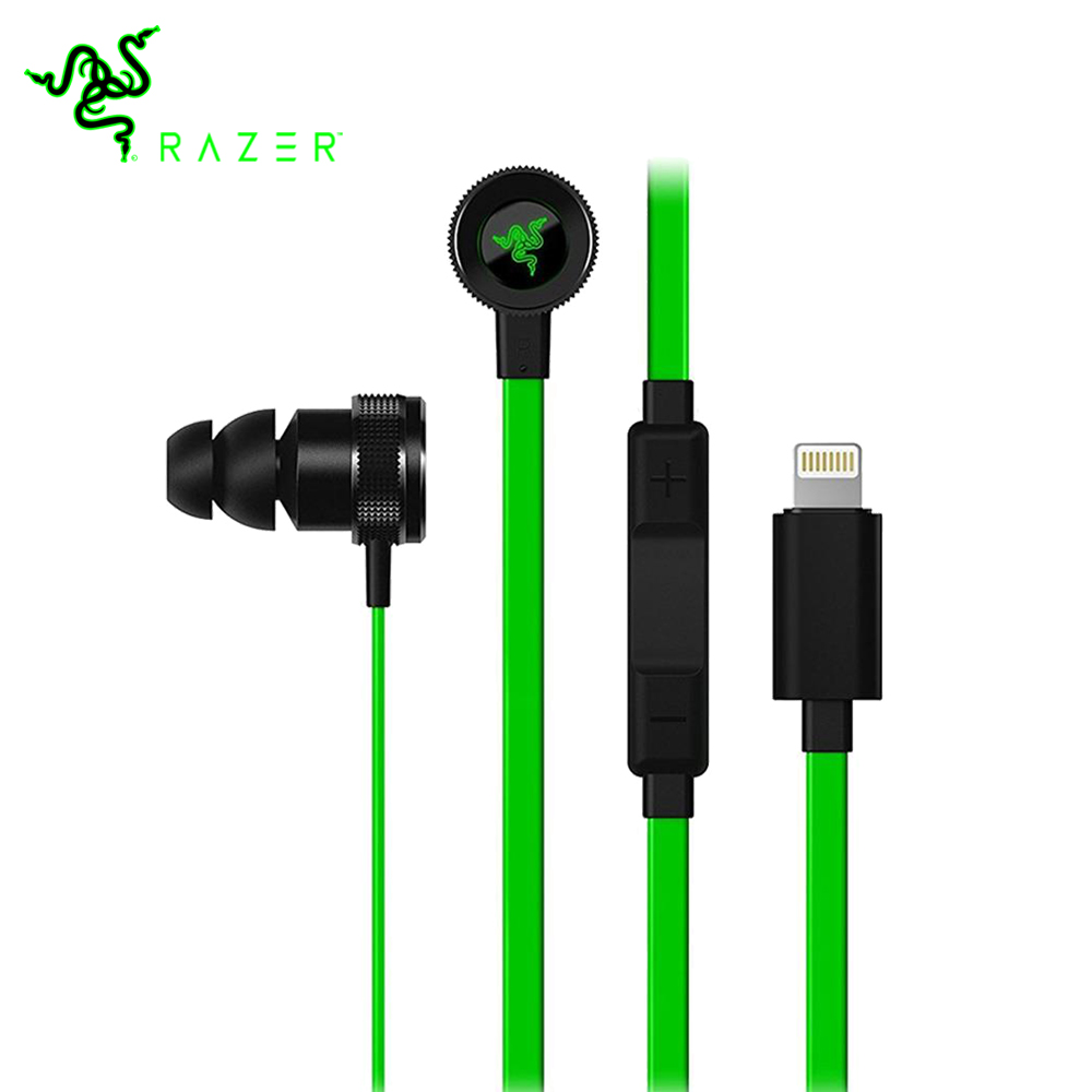 Razer Hammerhead for iOS Earphones with In-Line Remote Port for Mic Port for iOS Devices Phone PC Gaming Music Earphones юбка lisa boho юбка