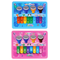Music Tablet Touch Screen Piano Drum Toy Kids Child Electronic Musical Pad Drum Game Toy Educational Learning Toy for Children