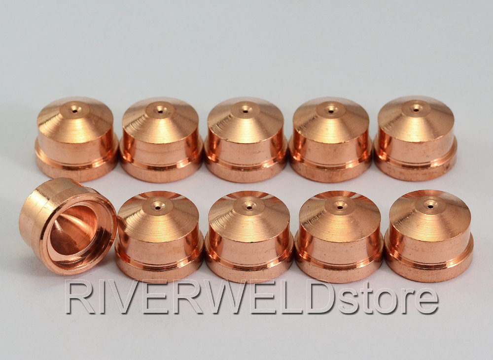 Tools : 10pcs C1376 Plasma Electrodes   10pcs 1371 Tips Cebora CP160 HP100 MP100 CB100 CB150 PR0034