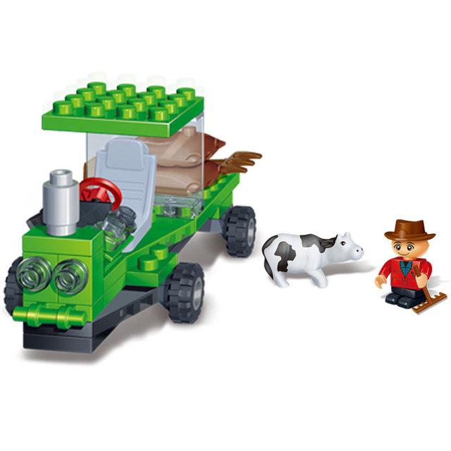 Grain Harvester Blocks Set