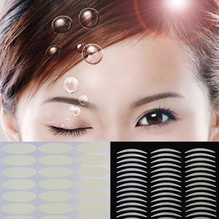 Beauty & Health Diplomatic 2017 Summer Hot Selling Fashionable Beautiful Invisible Eyelid Stickers 10pcs/pack