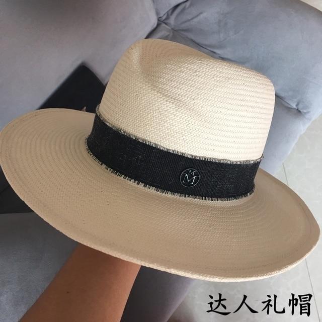 2017 hat tyranids cap double m wide brim sunbonnet strawhat