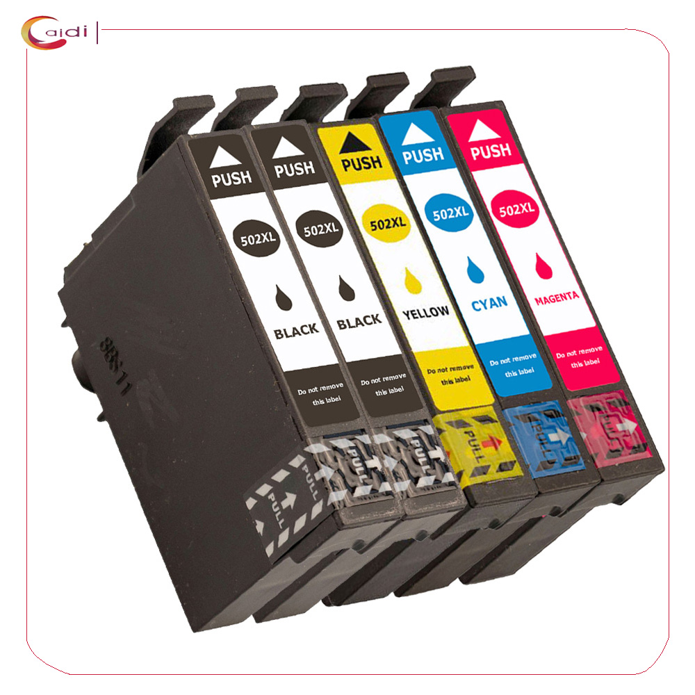 For Epson T502 XL Ink Compatible For Epson Expression Home XP-5105 XP-5100 WorkForce WF-2860DWF WF-2865DWF  2865D Print