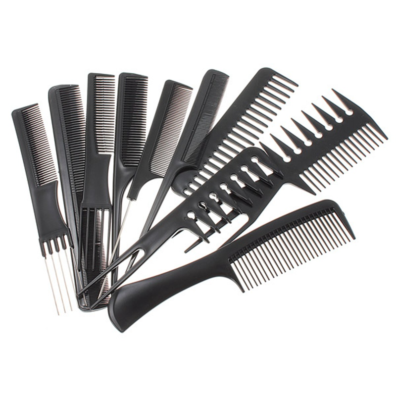 comb style hair bands aliexpress buy 10pcs professional combs set salon 6782