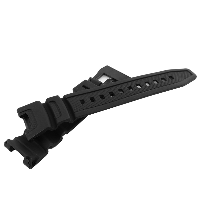 Hot sale Silicone Watchband Rubber waterproof Strap for Casio SGW-100 watchbands Smart watches accessories free shipping