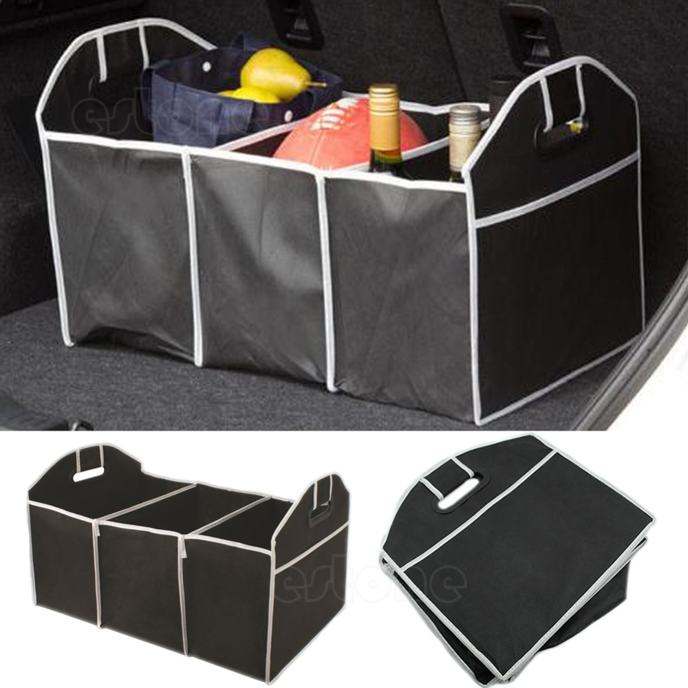 Aliexpress.com : Buy 2018 Babz Car Boot Organiser Shopping Tidy Heavy Duty Collapsible Foldable