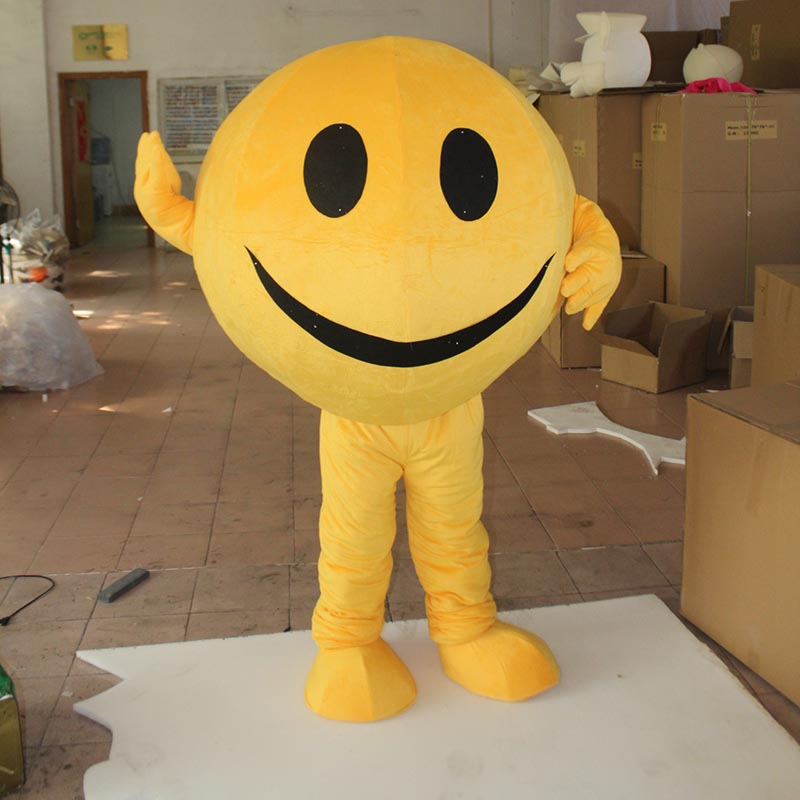 Lovely smile face Mascot Costume For Adult Inflatable smile face Costume Advertising For Adults Customize Halloween Party
