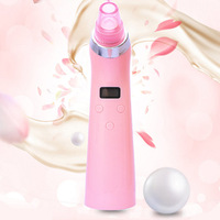 4 In 1 Vacuum Suction Face Pores Nose Blackhead Cleaner Deadskin Peeling Removal Microdermabrasion Beauty Instruments