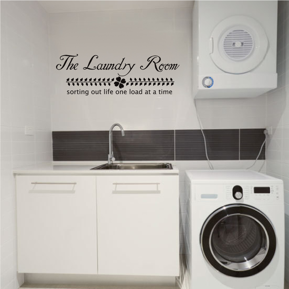 The laundry room vinyl wall decal sorting life out one load at a the laundry room vinyl wall decal sorting life out one load at a time home decor 22 x 7 in wall stickers from home garden on aliexpress alibaba amipublicfo Image collections