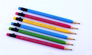 Image 5 - 3 pcs/set cute mechanical pencil kawaii automatic pencil mechanical pencils  pen for school and drawing 2B 0.7mm
