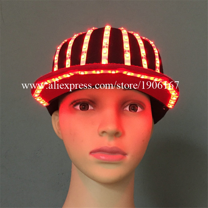 Fashion LED Light Baseball Caps Luminous Hat For Party Camping Travel Sport Headwear For Party DJ