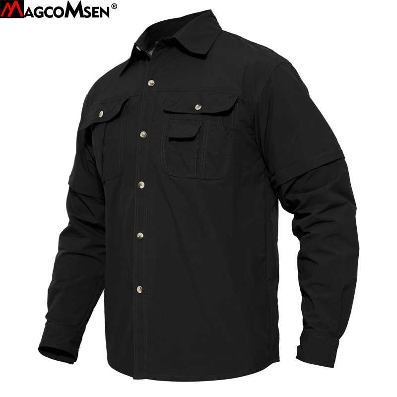 154fe0f5b7c2 MAGCOMSEN Summer Shirt Man Quick Dry Breathable Tactical Shirt US Military  Army Special Shirt Clothing Man