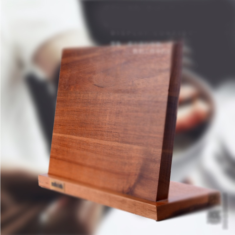 Solid Wood Magnetic Knife Holder Ventilation Drying Knife Storage Block Knife Stand Magnet Kitchen Utensil Cooking Tools 10