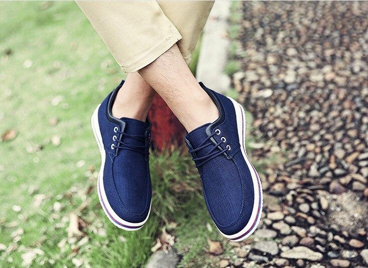 BEANNHUA العلامة التجارية الرجال حذاء كاجوال 3 ألوان الجملة و التجزئة عالية الجودة انخفاض الشحن 047-في أحذية رجالية غير رسمية من أحذية على  مجموعة 2