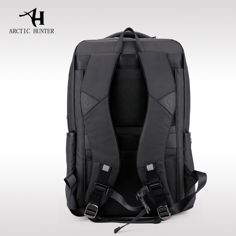 ARCTIC HUNTER New Business Men Oxford Cloth Laptop Backpack External USB  Charge Computer Backpacks Waterproof Bags for Men Women-in Backpacks from  Luggage ... b739d2ef55