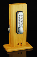 Intelligant Hot Mechanical Lockey Keyless Programmablel Deadbolt Doors Lock Coded Lock With Handle New