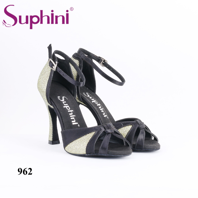 Suphini Women Latin Dance Shoes Handmade dance shoes Ballroom Dance Shoes High Heel Dance Shoes Free Shipping free shipping suphini wholesale brand new women s ballroom latin tango dance shoes 8 5cm heel