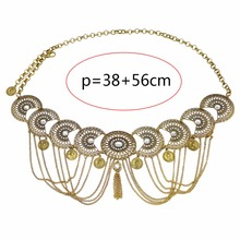2 Colors Hollow Out Waist Chains Crystal Sexy Beach Belly Belt Body Chains