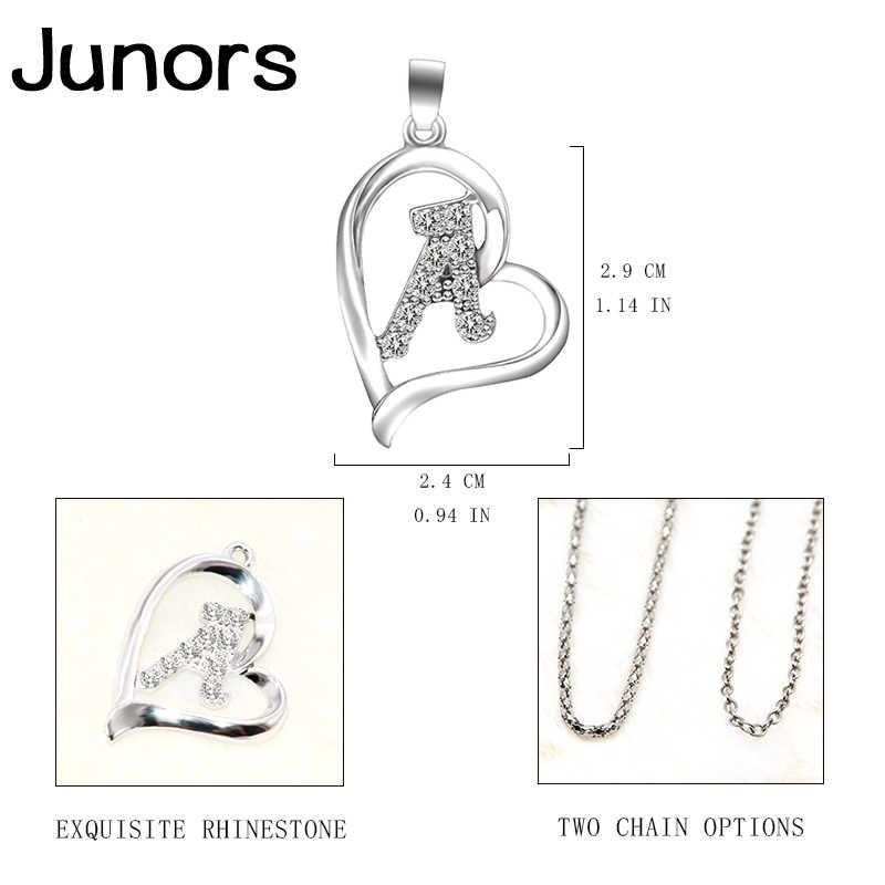 Ouro prata iniciais letra moda mãe colar mulher gadis amor instrução colar para as mulheres alfabeto letras jóias presentes