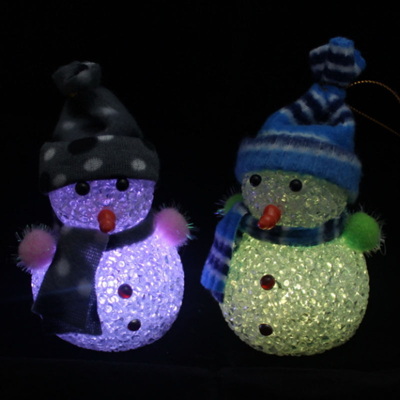 lovely changing christmas snowman led light night lamp table decor 74356 on aliexpresscom alibaba group
