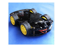 Smart RC Car Chassis with Velocity Tracing Obstacle Avoidance Control Race 4WD V6  R3 328P Raspberry pi Tractor