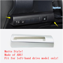 Lapetus Head Lights Lamp Switch Button Decoration Frame Cover Trim ABS Fit For Toyota Corolla 2019 2020 Matte Carbon Fiber Look lapetus auto styling matte carbon fiber style head headlamp light lamp switch button cover trim fit for toyota camry 2018 2019