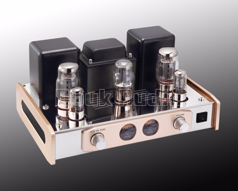 2018 Latest Hiend HiFi KT88 Vacuum Tube Integrated Amplifier Single-Ended Class A Stereo Power Amp 18W*2