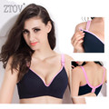ZTOV Cotton Maternity Nursing Bra pregnancy women sleeping bras pregnant women nursing bra soutien gorge allaitement underwear