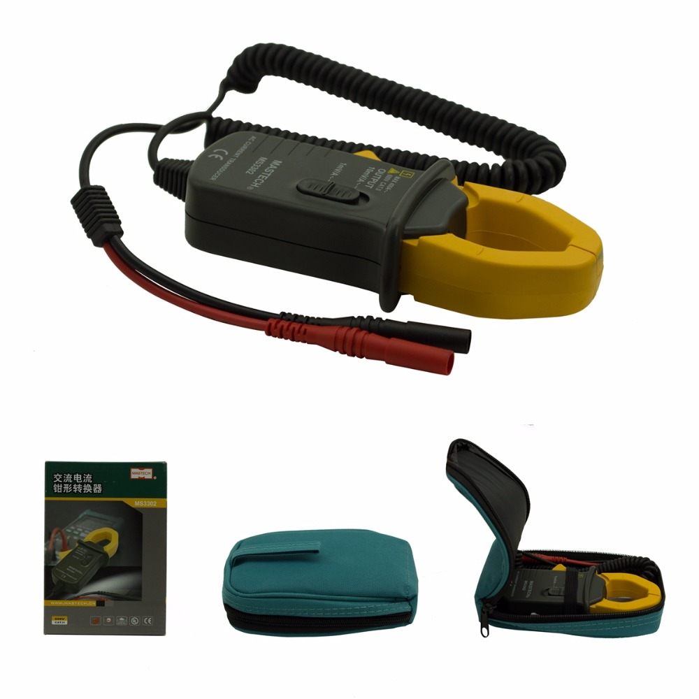 AC clamp Current Transducer MASTECH MS3302 0.1A-400A Clamp Meter Transducer True RMS TRMS Test 4 8 days arrival df4 trms 4 1 2 true rms ac voltage meter ac200v ac110 220v power supply