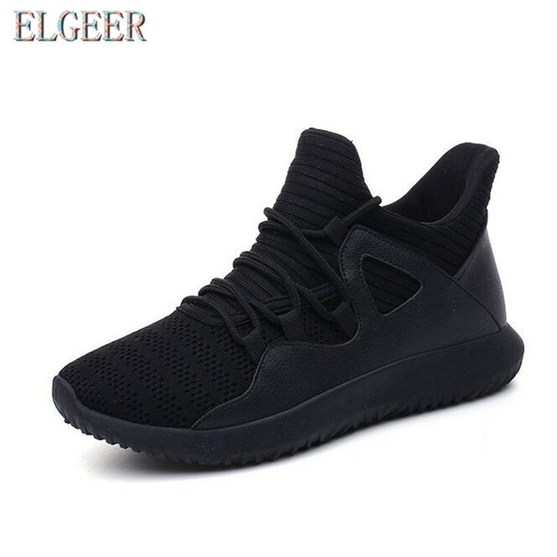 2018 spring and autumn new casual men's shoes flying mesh lace with - Men's Shoes - Photo 3