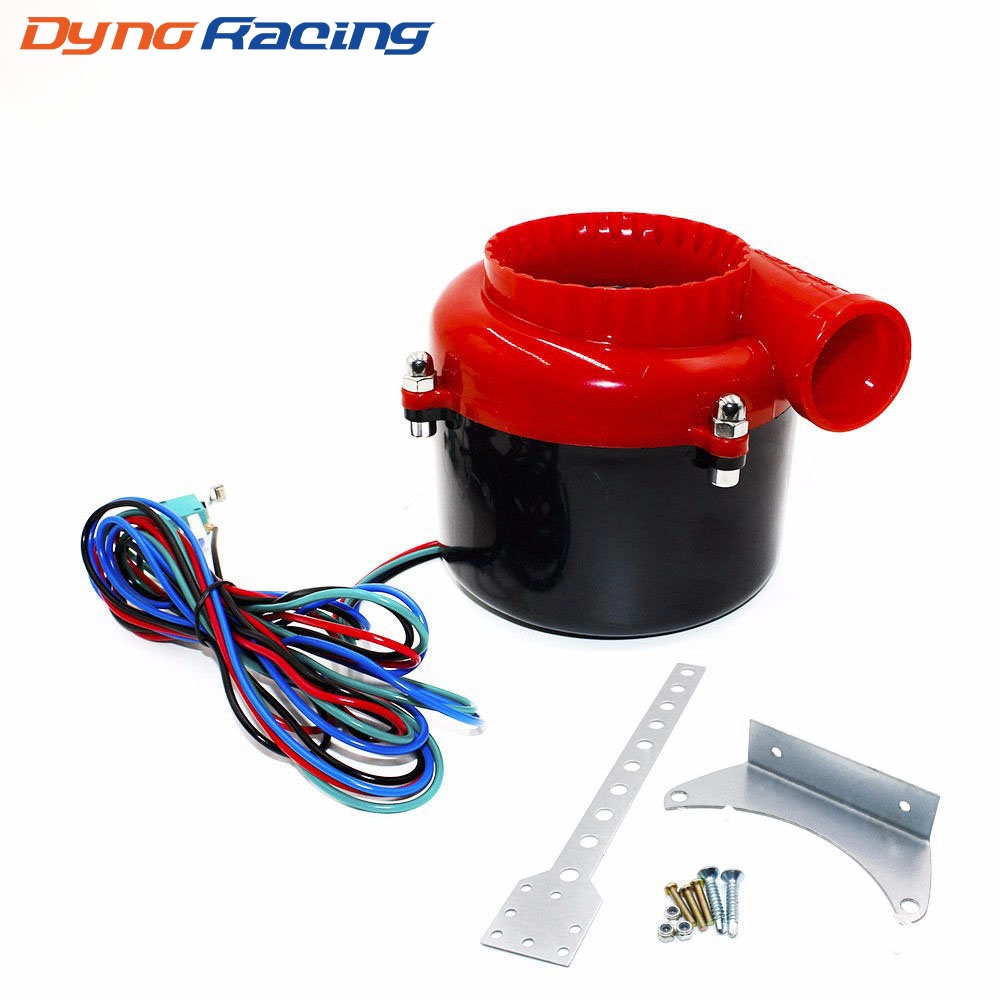 Universal Electronic turbo Car Fake Dump Valve válvula de descarga Turbo Sound Electric turbo Blow Off Analog Sound BOV