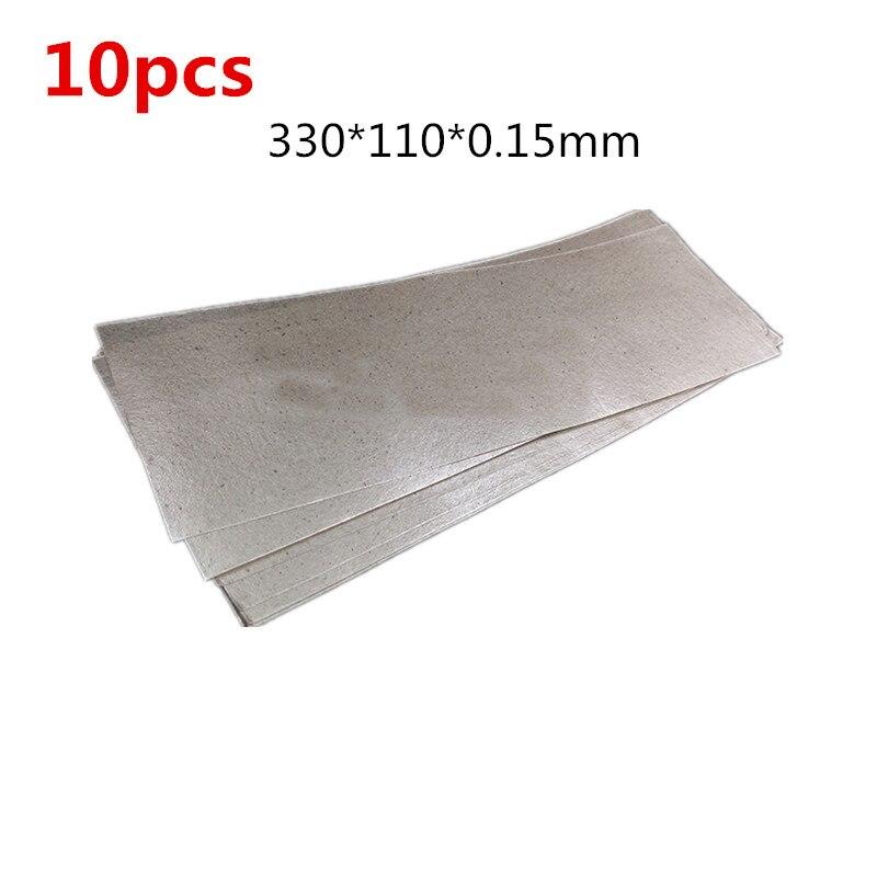 10 Pcs High Temperature Resistant Insulating Mica Paper Rolls Of Plastic Welding Hot Air Gun Heater Insulation 33*11cm