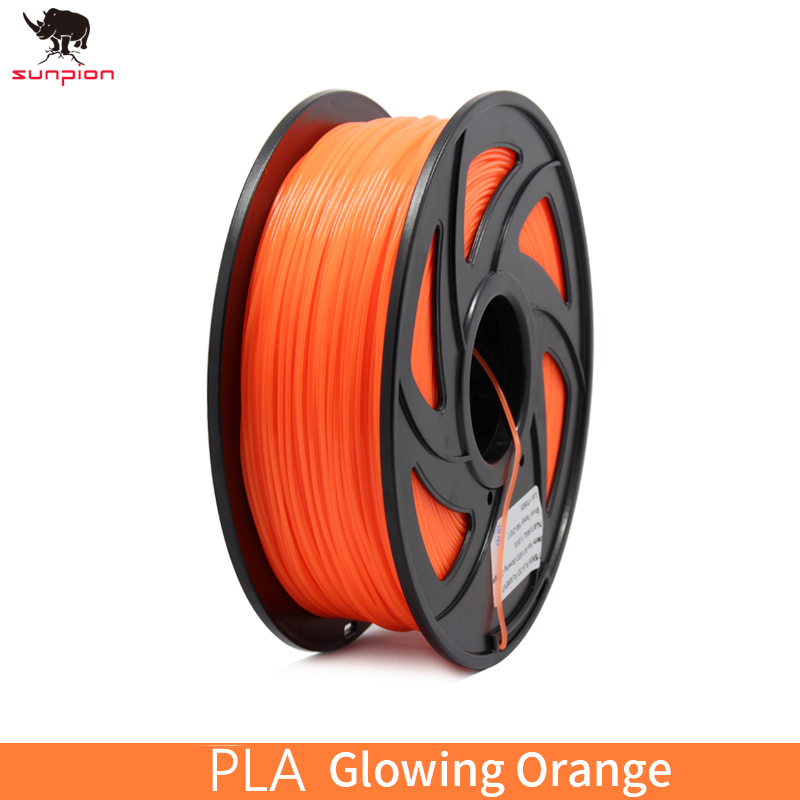 SUNPION 3D Imprimante Filament PLA 1.75mm 1 kg 3D En Plastique Filament 1.75 3D Impression Matériaux Fournitures