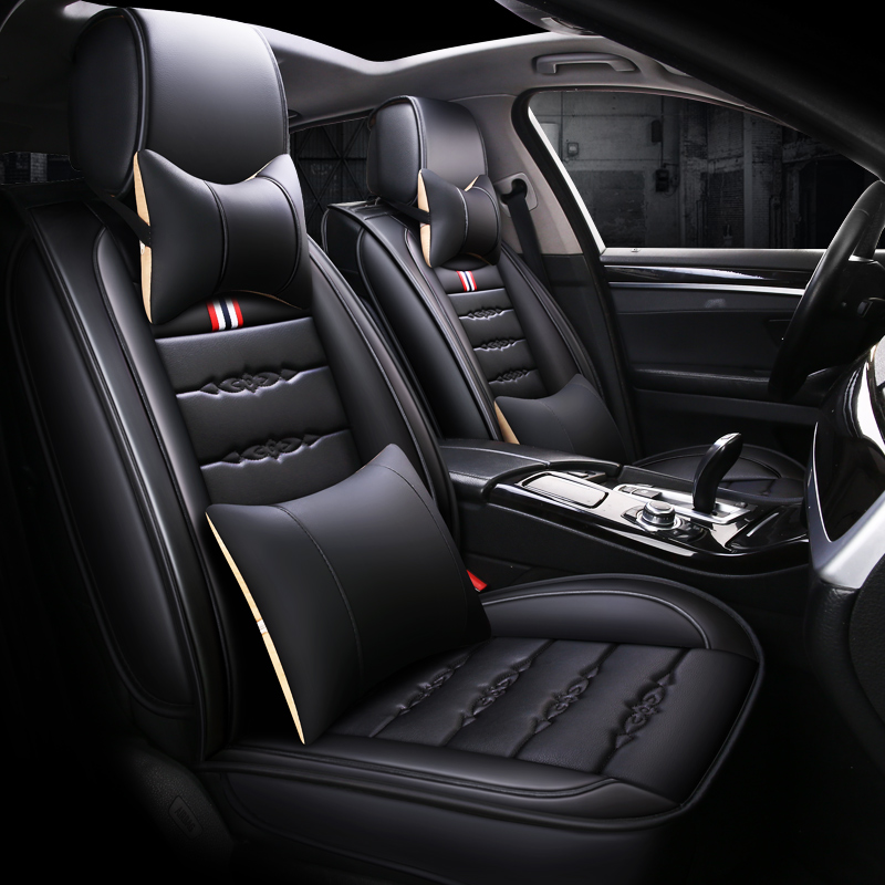 pu leather car seat cover auto seats covers for Mitsubishi Group i miev colt lancer eclipse