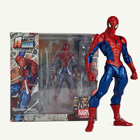 TOFOCO 16cm Movable Magic Spider Man Figure Amazing Spiderman Action Figures Hot Toys Hero PVC Model Gifts
