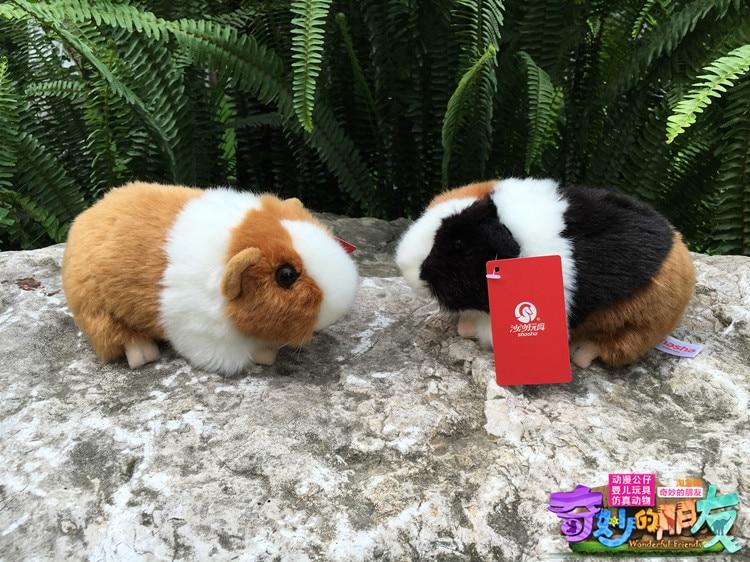 18CM Kawaii Simulation Mouse Plush Toys Guinea Pigs Plush Dolls Cavia - პლუშები სათამაშოები - ფოტო 2
