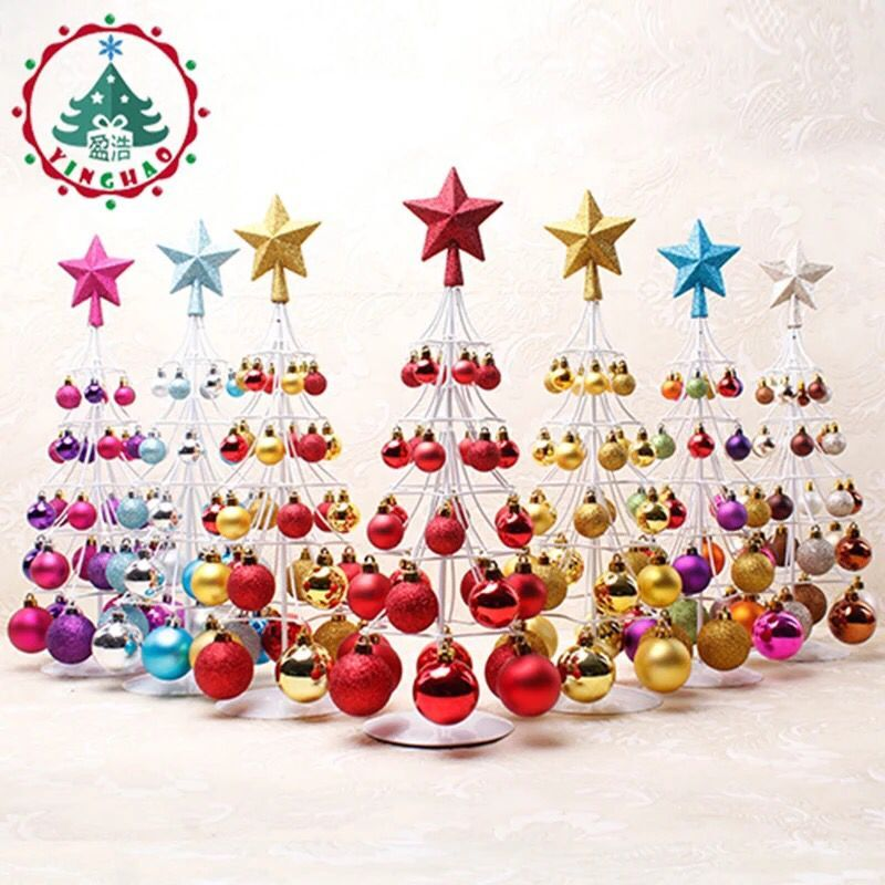 Christmas Decorations In Shopping Malls: Christmas Decoration Supplies Mini Small Christmas Tree