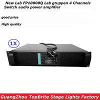 2016 HotSales FP10000Q LabGruppen Professional Popular High Performance LineArray Switch Amplifier 4x1300W 4 Channel PA Speakers