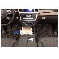 Экспресс доставка волокна кожи автомобиль коврики коврик для Mercedes Benz x166 GL350 GL400 gl500 GL550 gl63 AMG gls 2012 2018