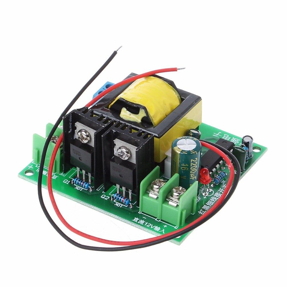 DC-AC convertidor 12 V a 110 V 200 V 220 V 280 V 150 W inversor Boost Junta transformador 828 promoción