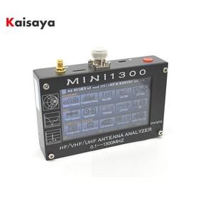 "Image 1 - Mini1300 4.3 ""Touch LCD 0.1 1300MHz 13.GHz UV HF VHF UHF ANT SWRเครื่องวิเคราะห์เสาอากาศ + แบตเตอรี่ชาร์จL3 003"
