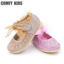 Модная кружевная детская обувь для принцессы для маленьких девочек, детская обувь с мягкой подошвой, кожаная обувь внутри 13-15 см, детская обувь без каблуков для девочек