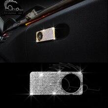 Автомобиль Стиль подкладке гриф украшения Коробки для инструментов планки Рамки w205 Блёстки крышка для Mercedes c200l E Class GLK GLC CLS SL GL m