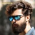 Aoron óculos polarizados dos homens óculos de sol clássico marca designer óculos defendendo coating lens shades óculos de lazer da moda das mulheres
