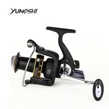YUMOSHI 2017 Fishing spinning reel 7000 8000 13+1BB saltwater high-profile upscale boutique CNC rocker arm fishing reels